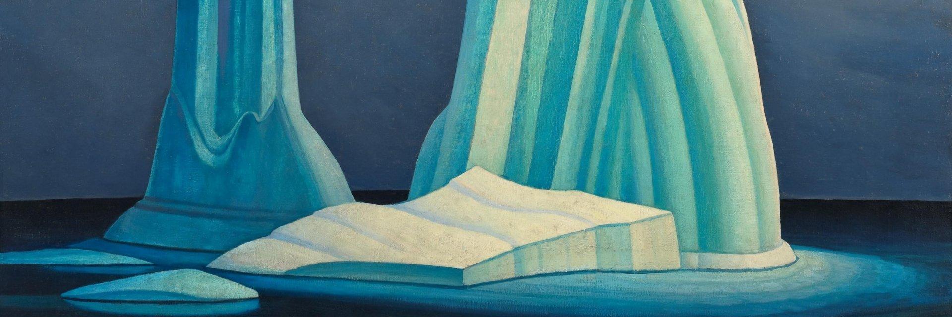 Kunsthal Rotterdam 'Magnetisch Noorden'- Lawren S. Harris Icebergs, Davis Strait 1930, McMichael