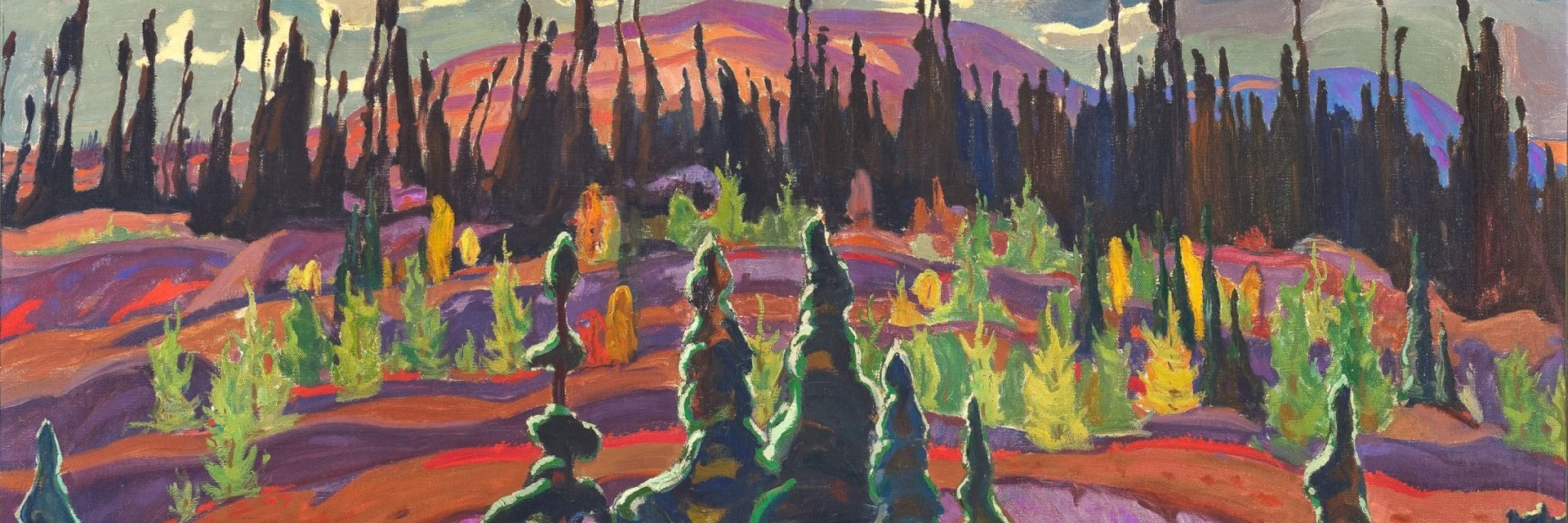 Kunsthal Rotterdam 'Magnetisch Noorden', A.Y. Jackson, lake Superior County, 1924, McMichael Canadian Art Collection